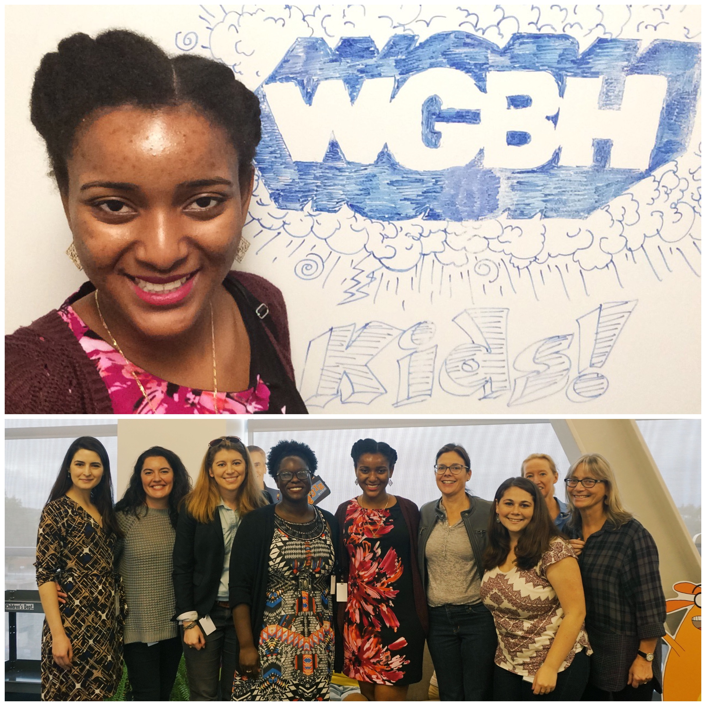 The Children's Programming team at WGBH, where I spent most of this year.