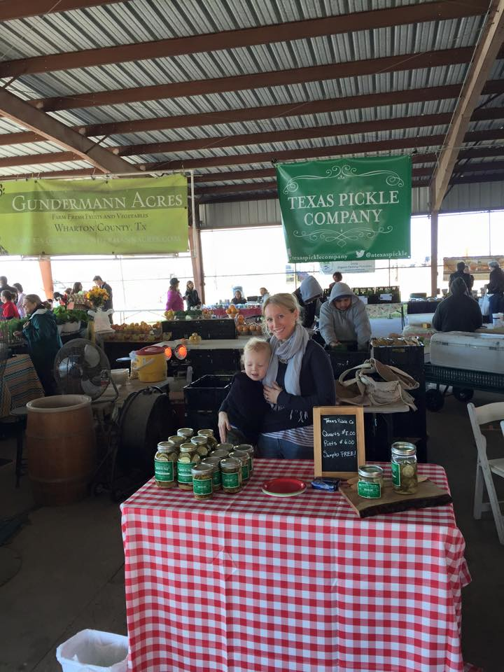 Our first farmers market