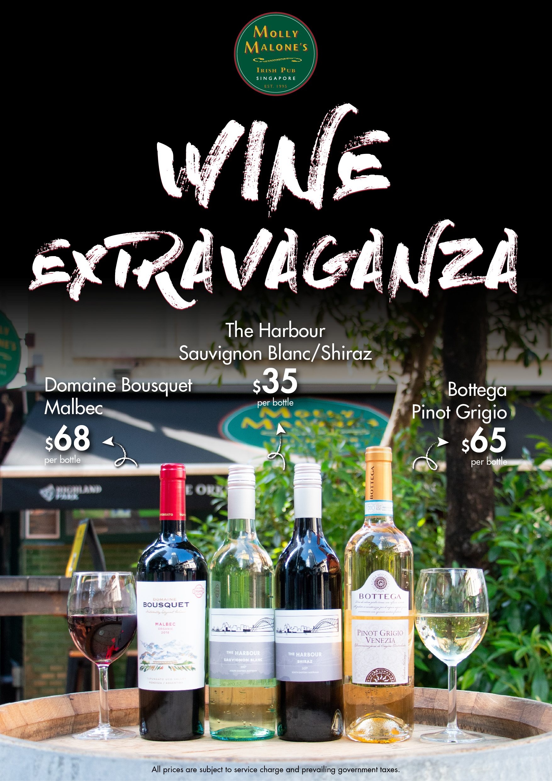 Spring Wine Selection