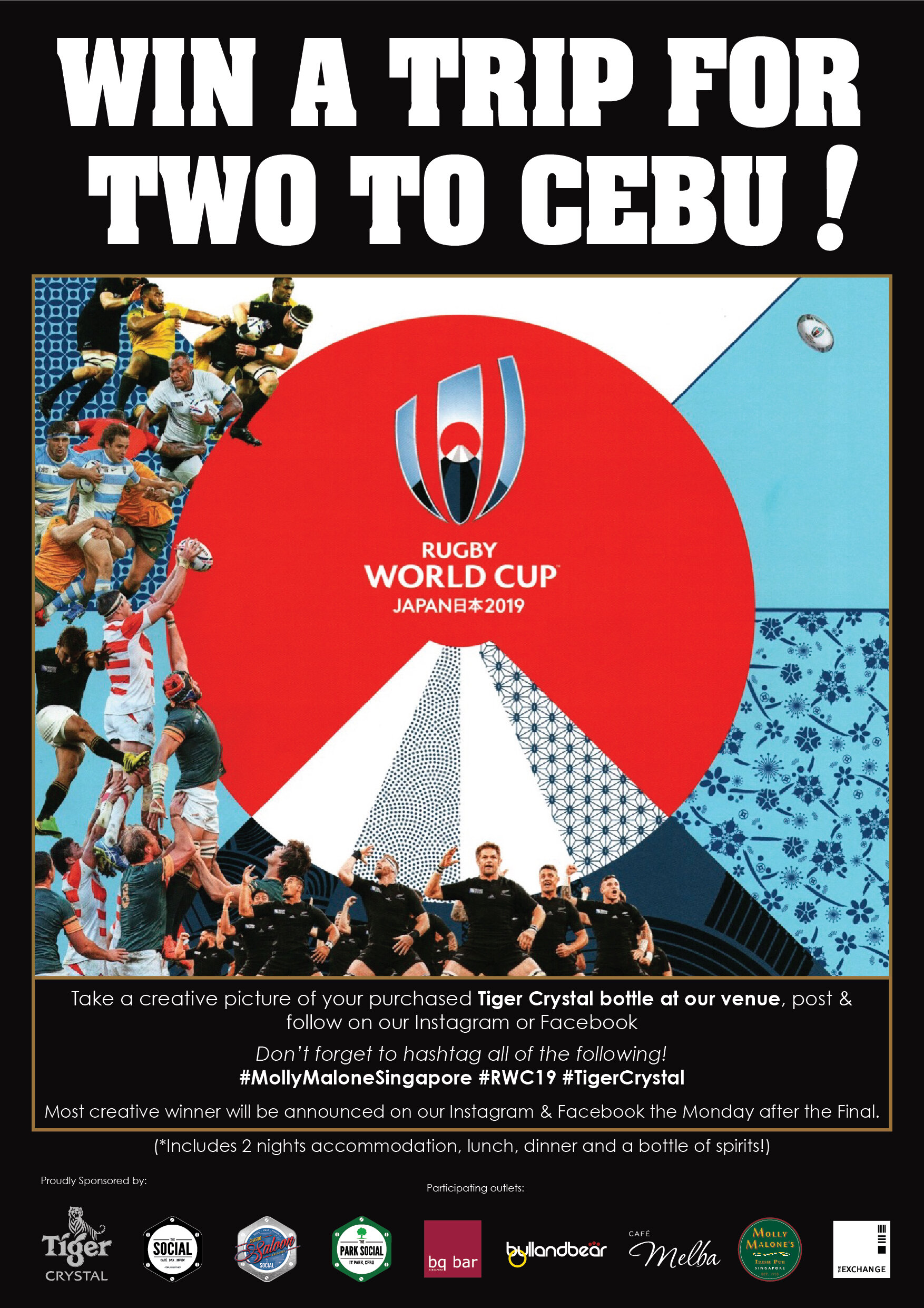 Win a Trip for Two to Cebu!