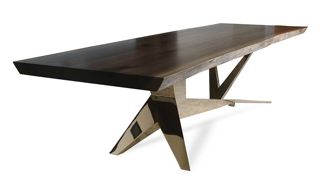 Pedestal Base Dining Table