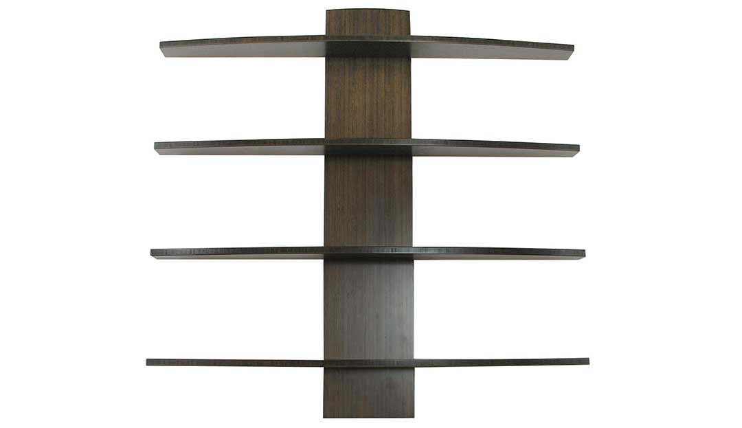 Cambium Studio.Slippery Shelves.Dark Curved Totem.jpg