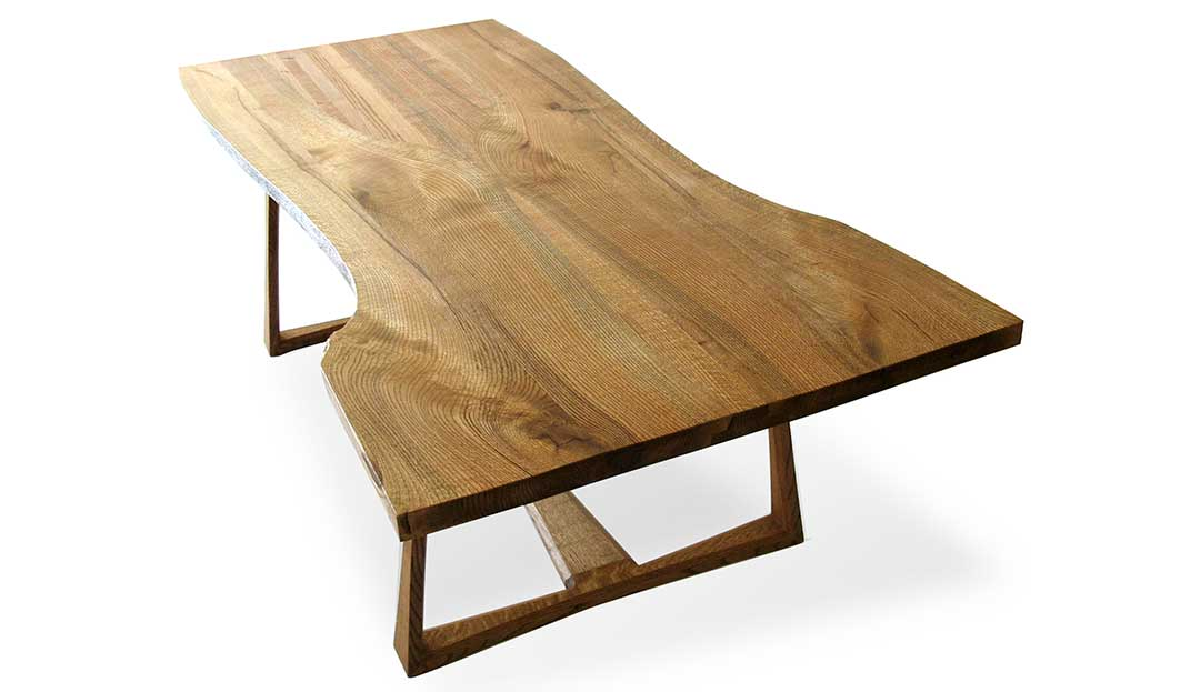 Trapezoid Dining Table
