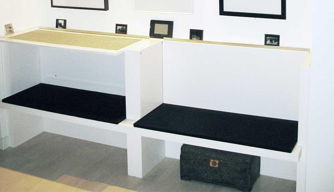 Cambium Studio.West Cambium Studio.Village Apartment Renovation.Seating Art Display_full view.jpg