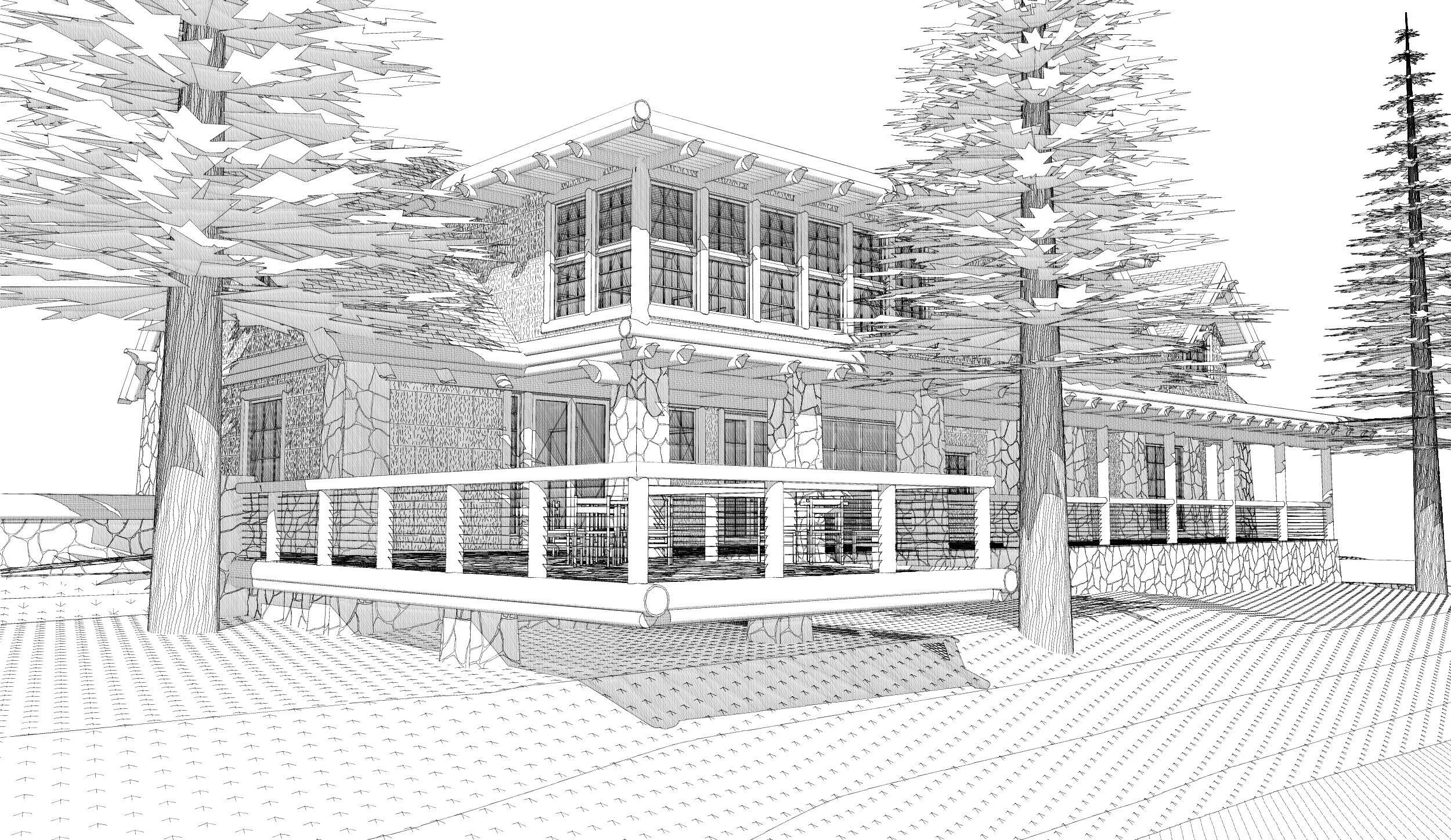 ARCHITECT RUSTIC DESIGN HOUSE NC 01.jpg