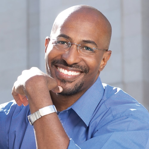 Van Jones -President  Van is a TV personality, former Obama White House advisor and bestselling author. A Yale-educated attorney, he has founded four successful nonprofit organizations, including The Dream Corps. An environmentalist and human rights champion, Van has received awards and honors from TIME Magazine, Rolling Stone magazine, Fast Company magazine and the World Economic Forum.
