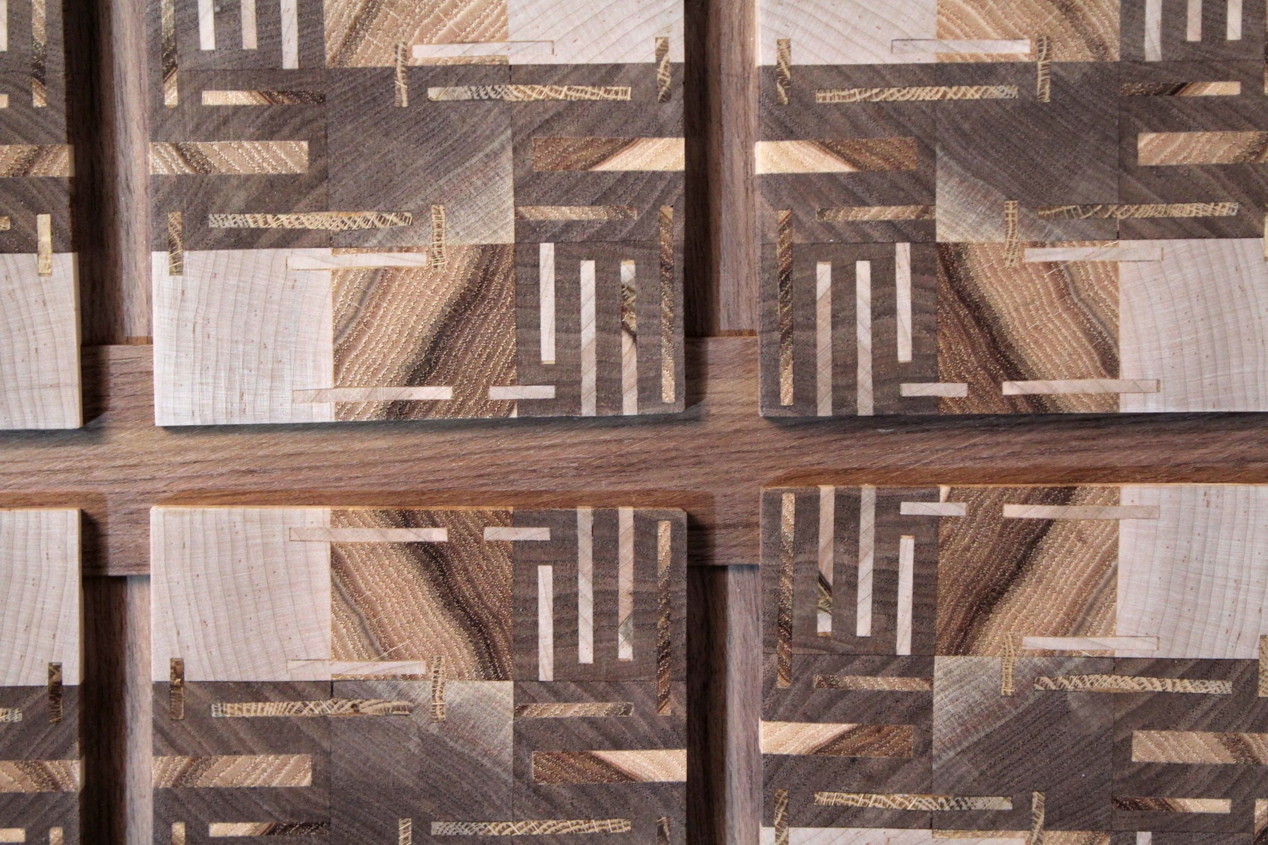 Quilted Tiles - Wood ShopFall 2017
