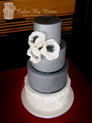 4 tier pewter frills flowers rosettes grey white.png