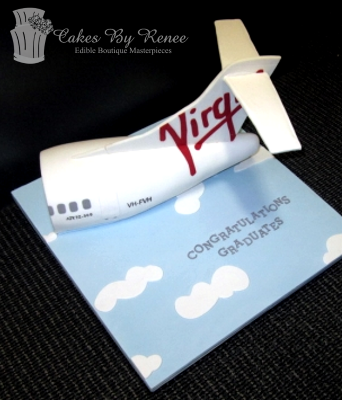 air plane birthday cake graduation cake flight attendant celebration.png