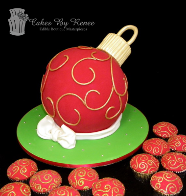 christmas decoration bauble cake.png