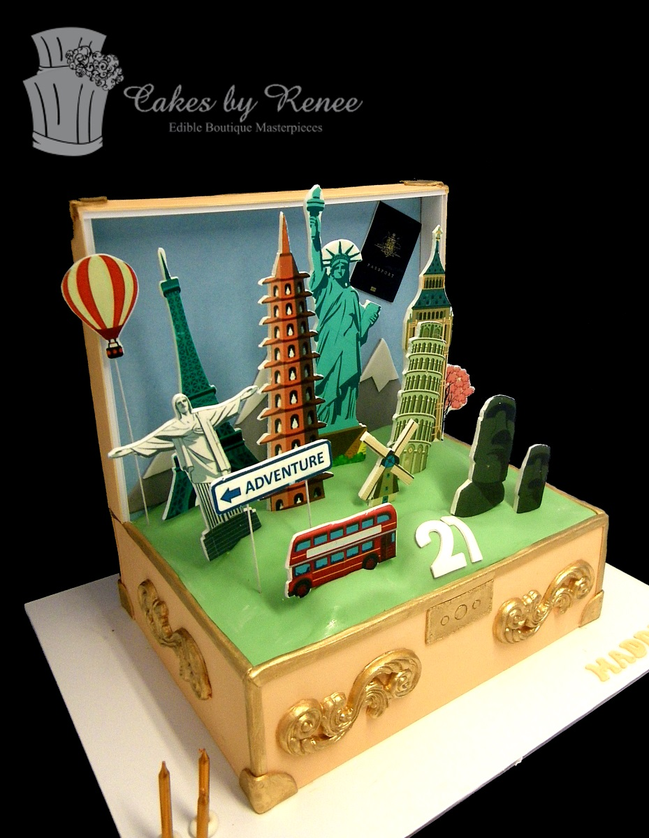 Mar 25 - travel holiday world trip birthday cake.jpg