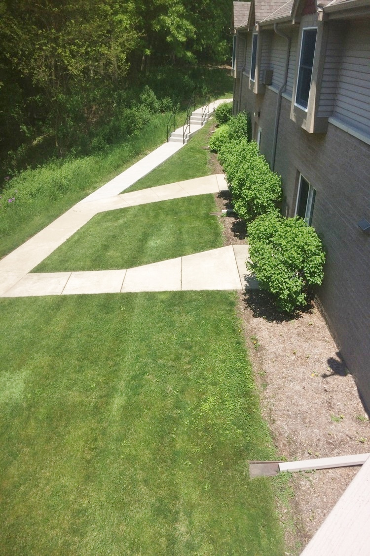 A. Rogers Memorial Hospital, Eating Disorder Clinic Therapy Garden, Oconomowoc, WI_Entrance_ BEFORE.jpg