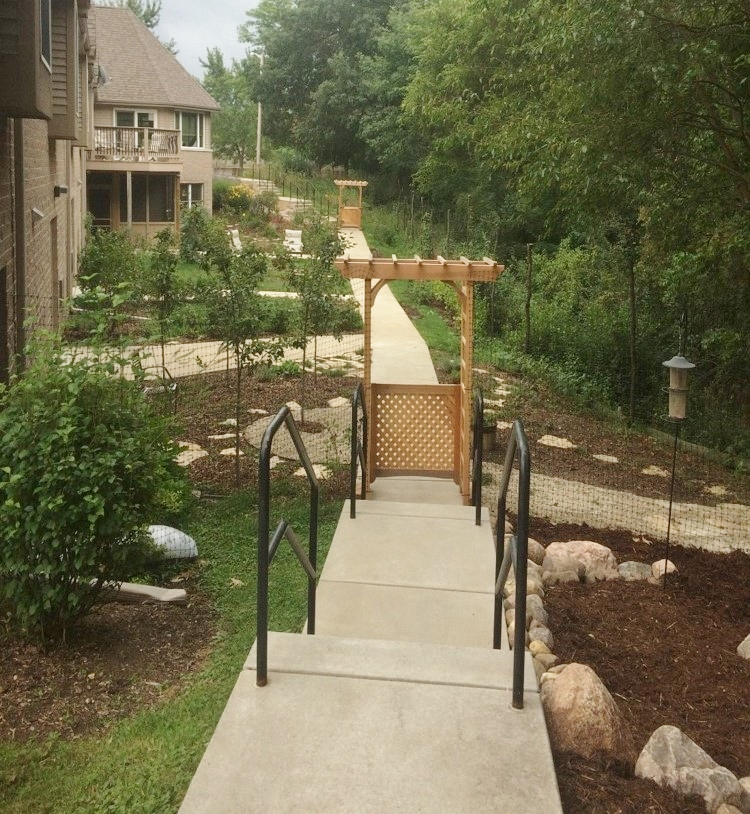 C. Rogers Memorial Hospital, Eating Disorder Clinic Therapy Garden, Oconomowoc, WI_Exit AFTER.jpg
