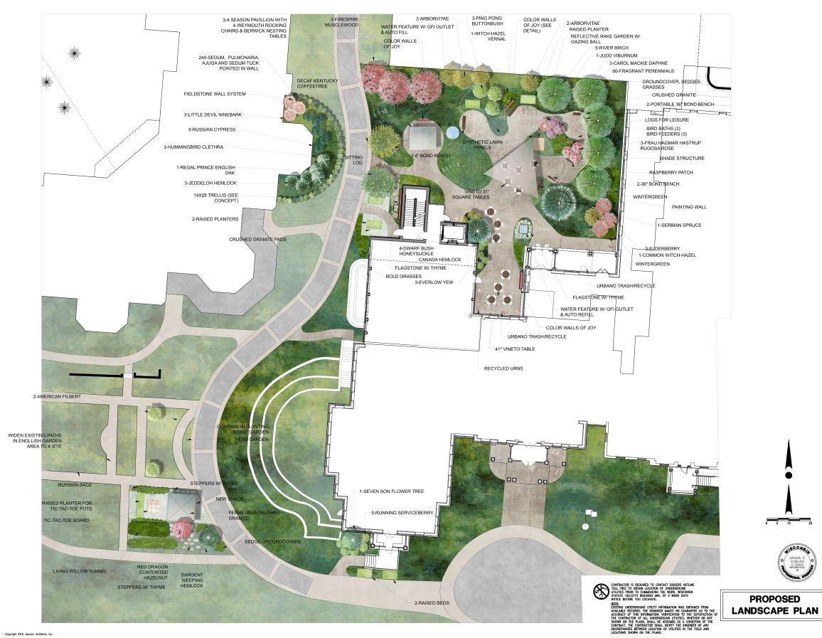 Rogers Memorial Hospital West Wing Plan, Oconomowoc, WI