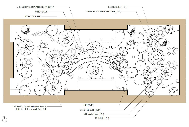Senior Living Center - West Court Concept Plan, Sussex, WI