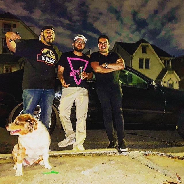 What a great night and hard worked night with the squad #Teamwork @djtoreitup killed it behind the Decks while I MC'ed last nights wedding, then @djmuvee providing the needed DJ support at @caborvc and to end the night with an epic photo with the squad including Toreitup dog 😂🐶 and special shoutout to Willie @nycpartymasters  #afterparty #afterhours #dj #djlife #photography #djcity #djcitynyc #ilovewhatido #doglife