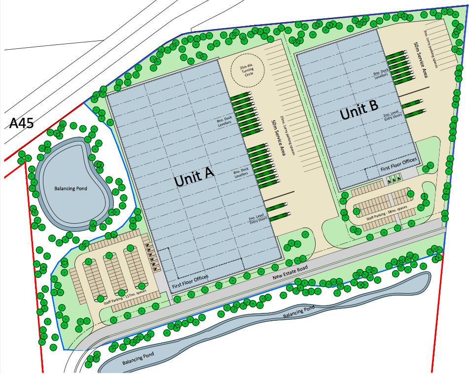 LAND - DEVELOPMENT - SALE    13.3 acre development land sale   Industrial/Logistics development site with planning consent for circa 200,000 sq ft of accommodation   Client:  LaSalle IM   Purchaser:  Confidential   Price:  Confidential