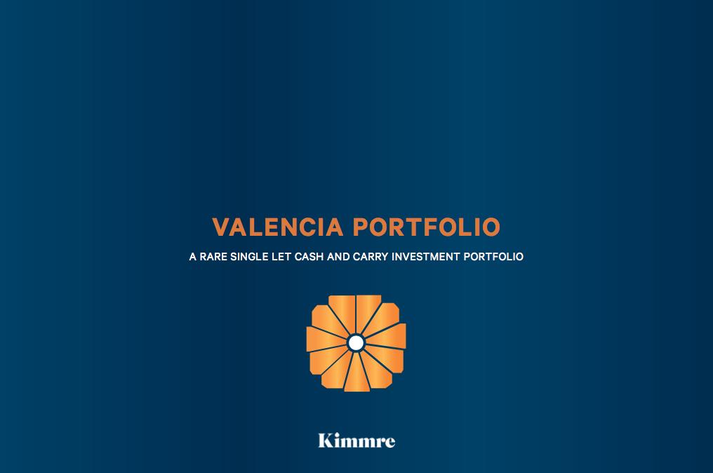 PORTFOLIO - INVESTMENT - SALE    Valencia Portfolio - UK wide   A portfolio of 6 Booker Cash & Carries located across the UK   Client -  UK Fund   Purchaser -  Confidential   Price  - Circa £35m