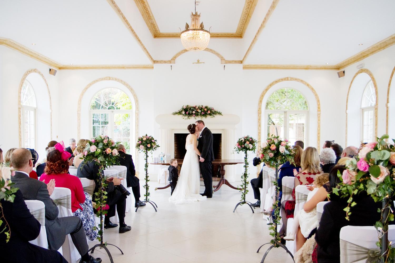 Northbrook Park Wedding Venue, Ceremony, Helen England Photography, Kent, U.K