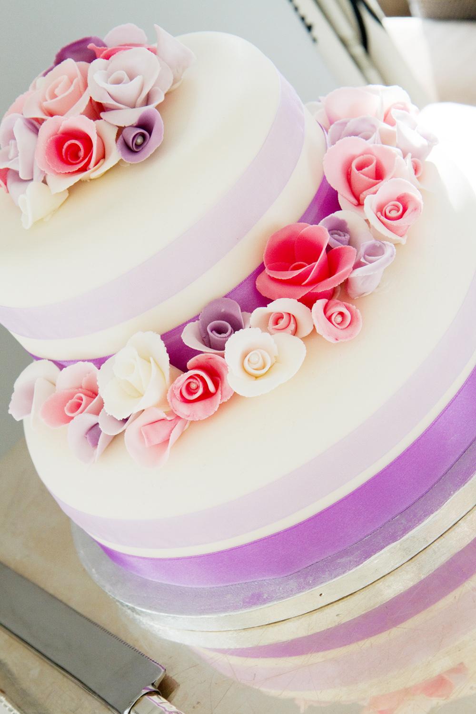 Pastel Flowers Wedding Cake, Helen England Photography, Kent, U.K