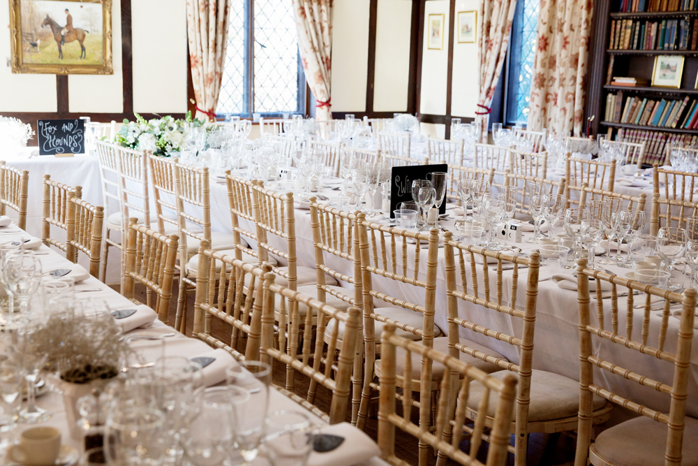 wedding decor - winter wedding at Hoath House by Helen England Photography, Kent