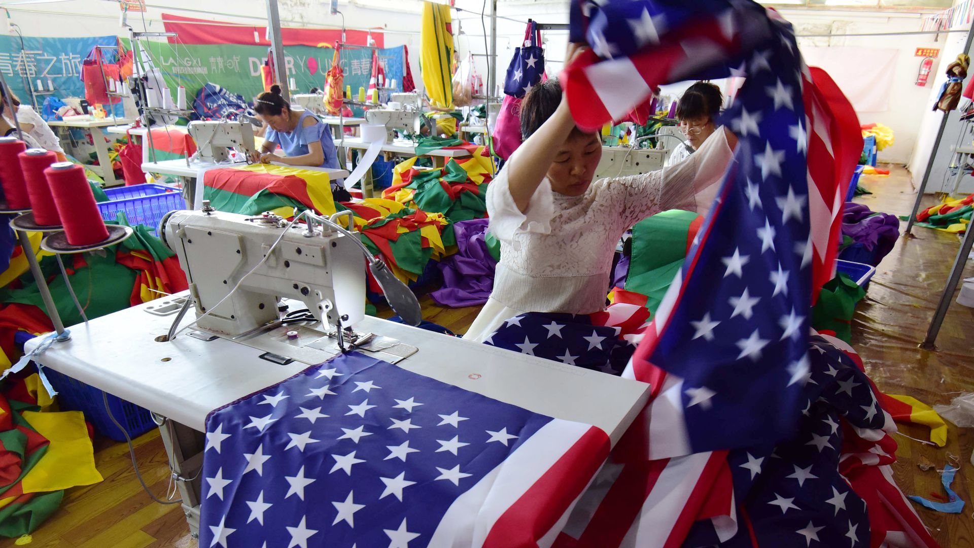 Manufacturing in China. Photo: AFP/Getty