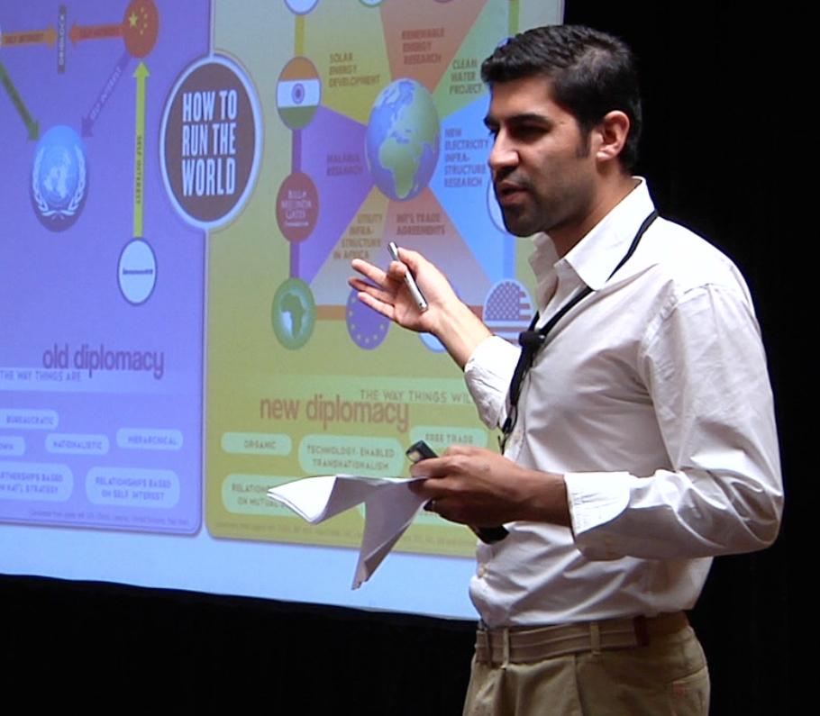 Parag Khanna Author Keynote Speaker at Highlands Forum