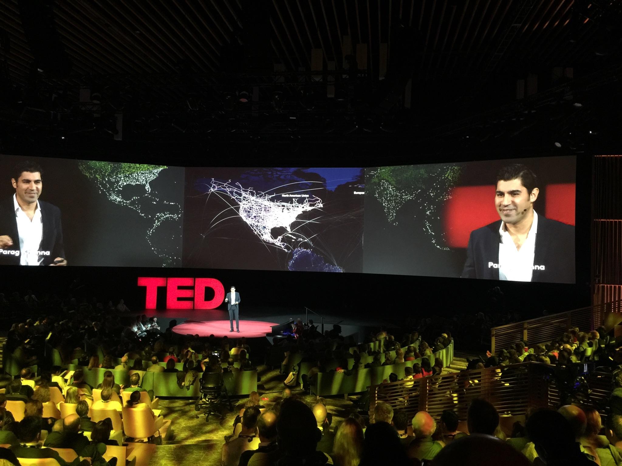 Parag Khanna Author Keynote Speaker at TED 2016