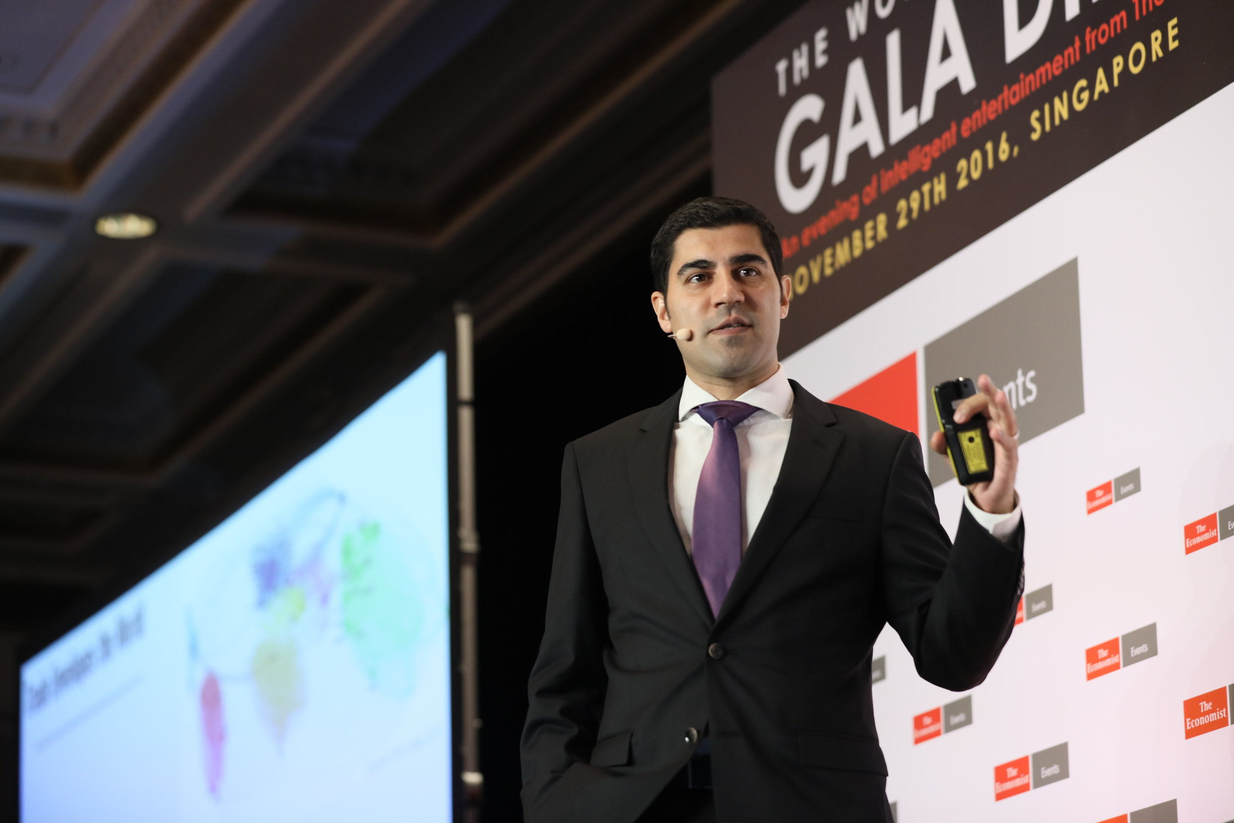 Parag Khanna Author Keynote Speaker at Economist Gala 2016