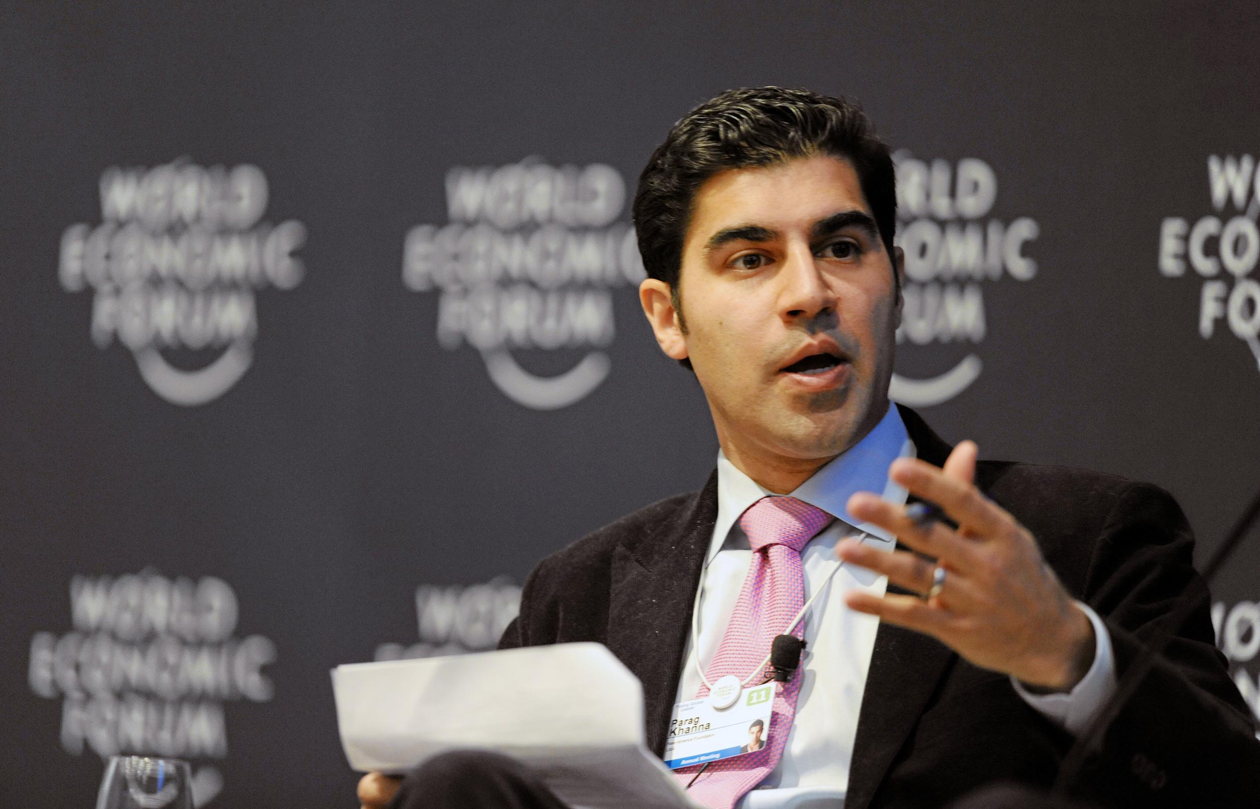 Parag Khanna Author Keynote Speaker Davos 2011
