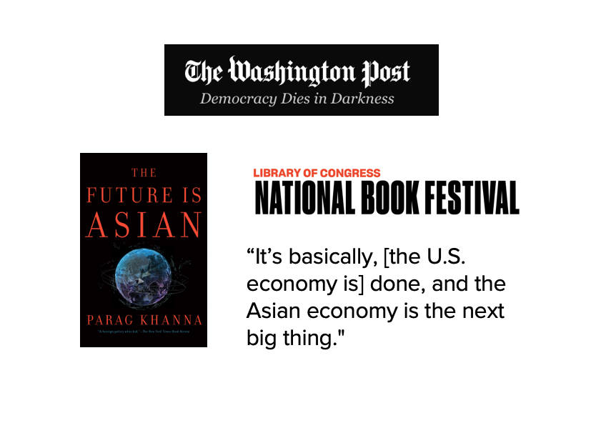Washington post Parag Khanna png