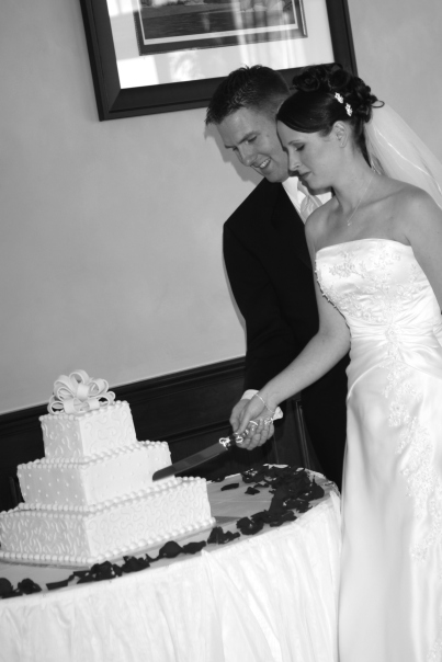 Lisa & Kyle —Photo courtesy of the bride and groom