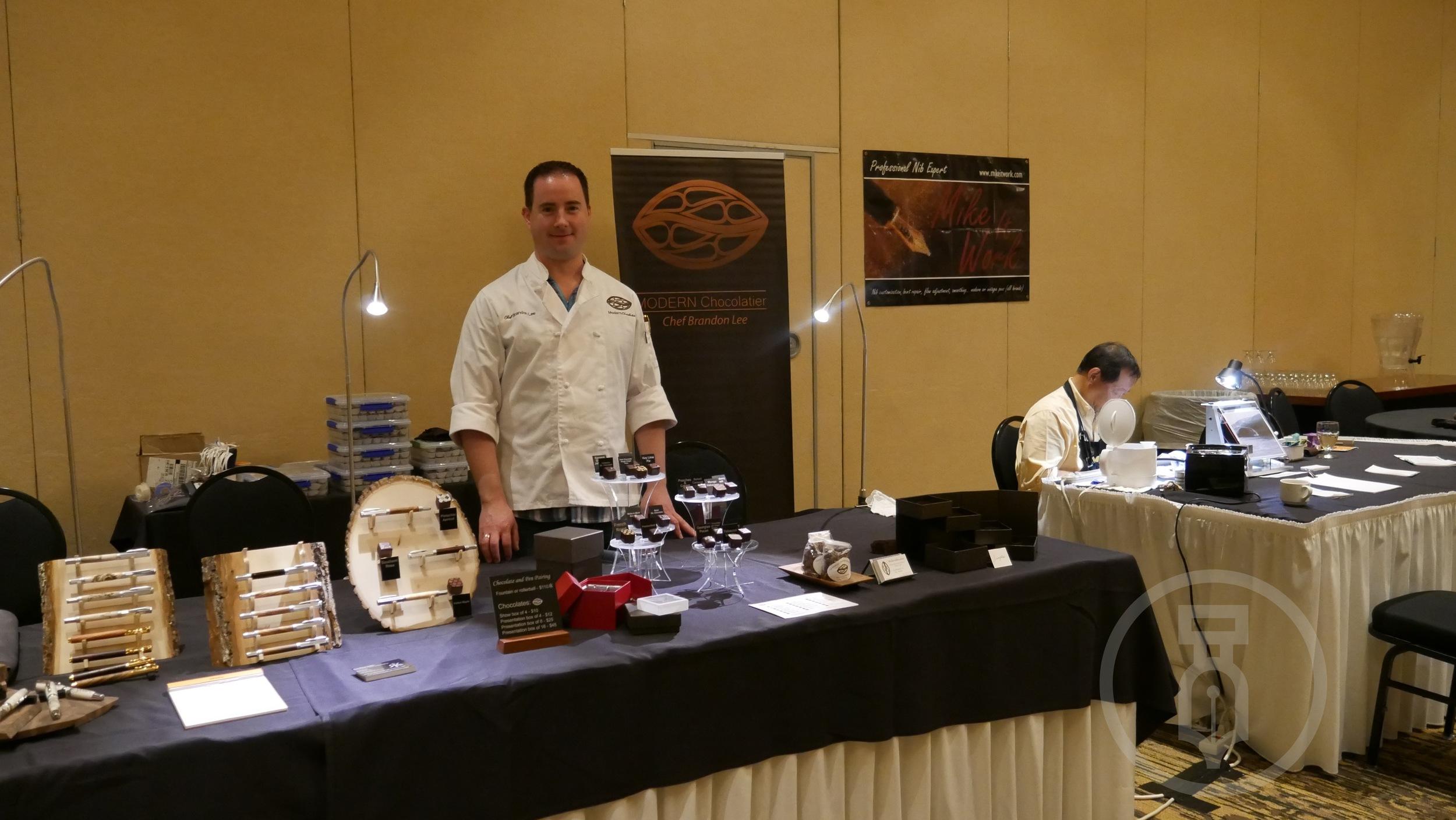 Chef Brandon Lee of Modern Chocolatier