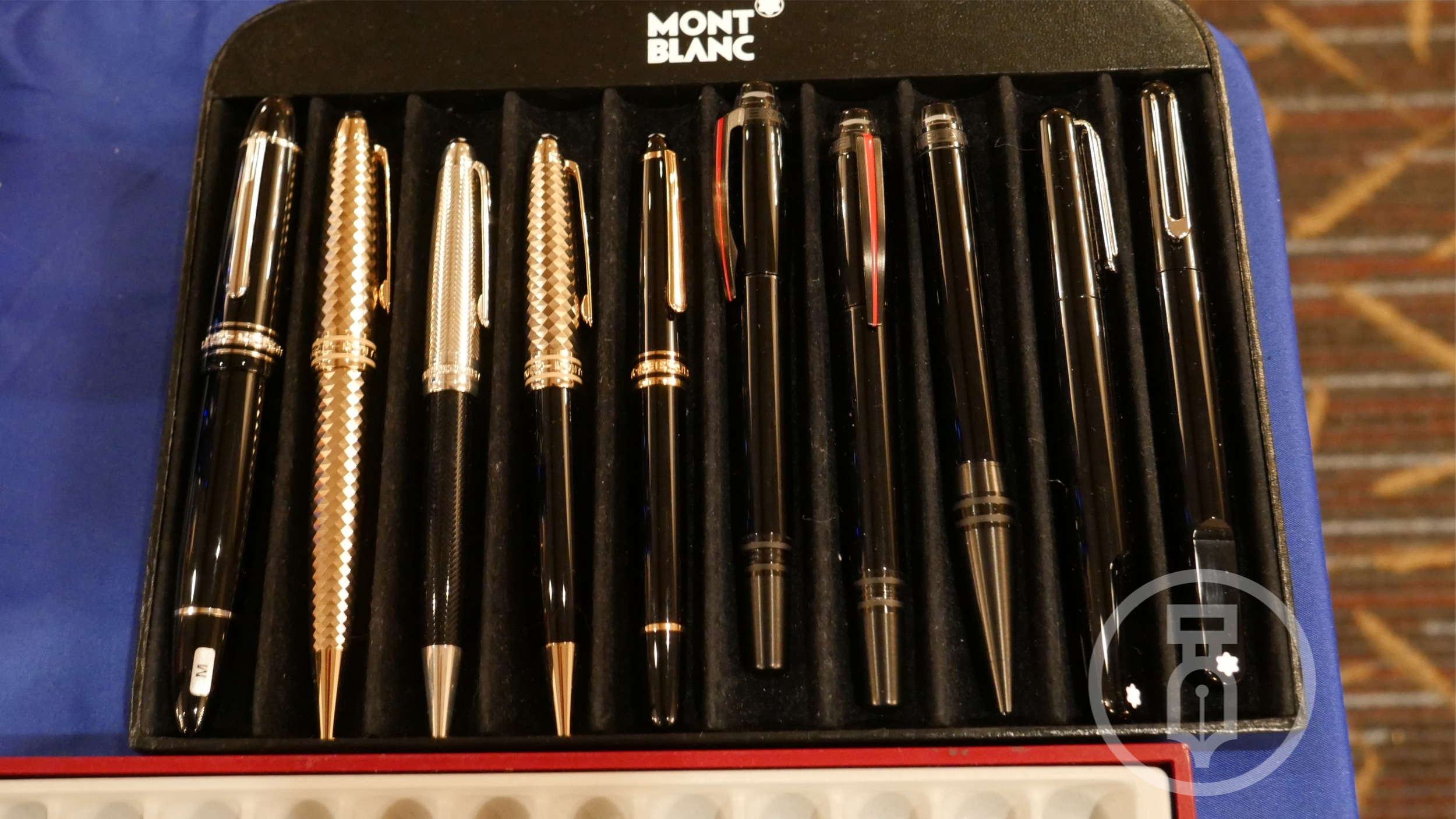 The Anderson's had Montblanc