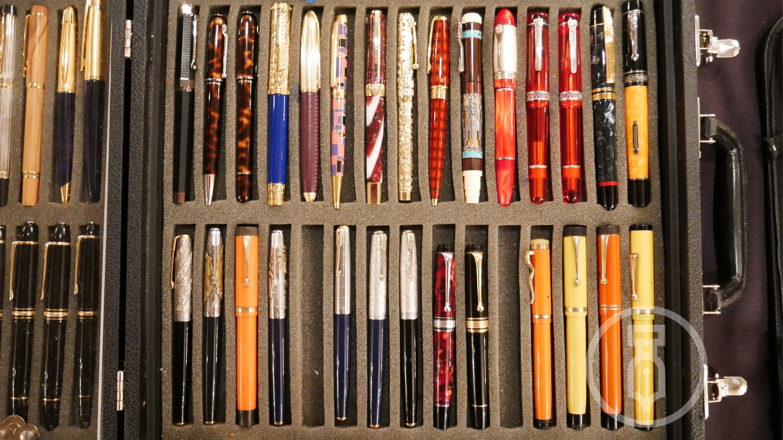 Paul Erano pens and it's not all vintage