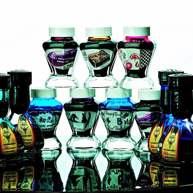 Ink bottle eye candy