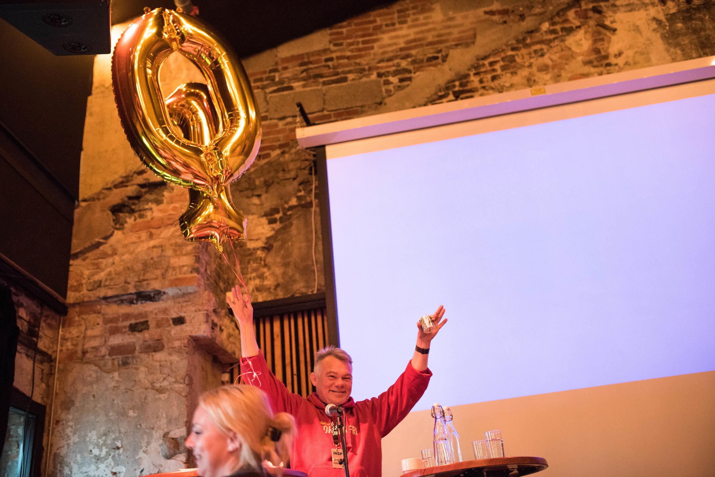 Sorgenfris 10-års jubileum ble feiret.