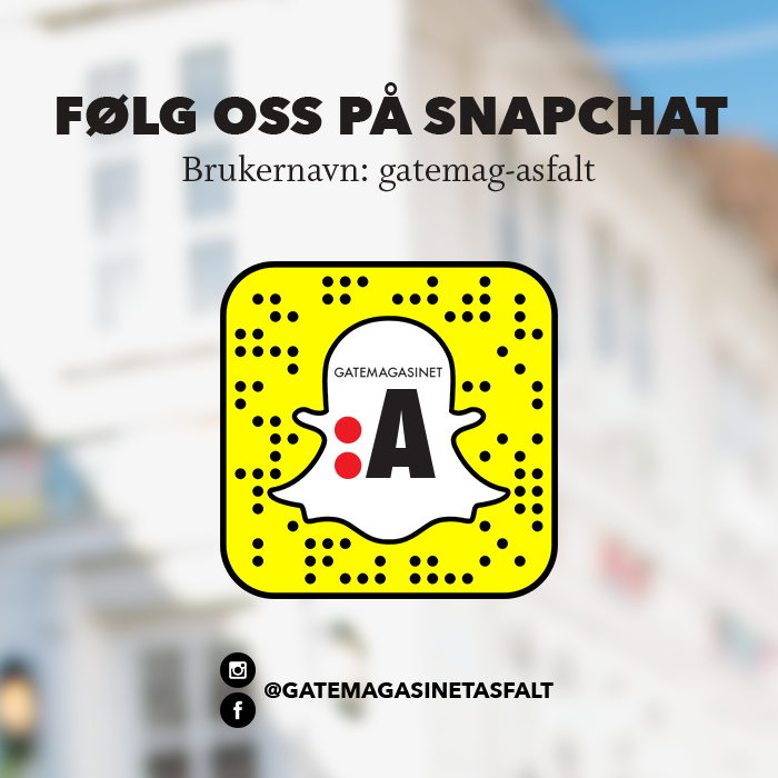 Scan snapchatkoden over!