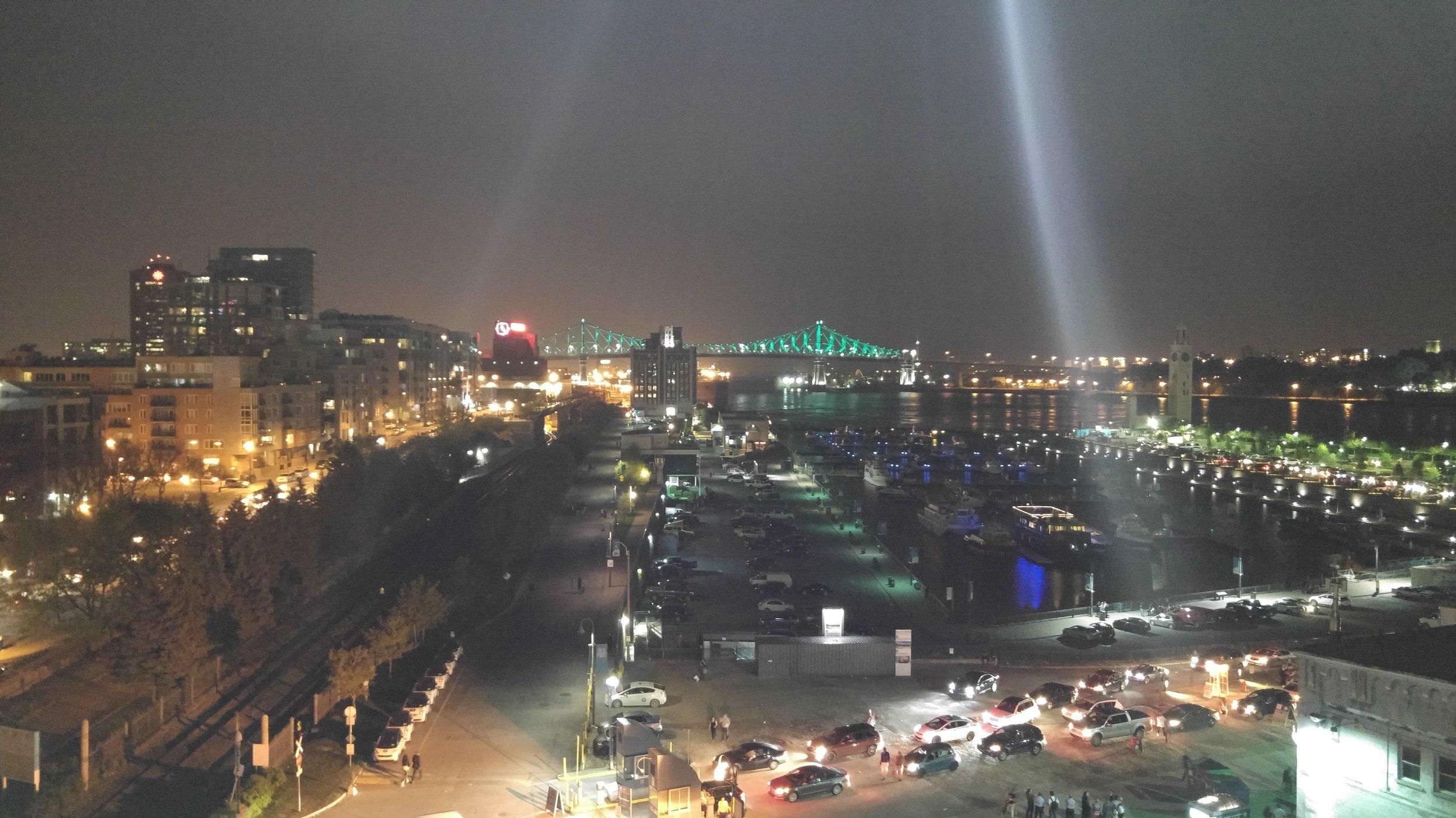 SPENNENDE: Montreal var en spennende by, syntes nordmennene.