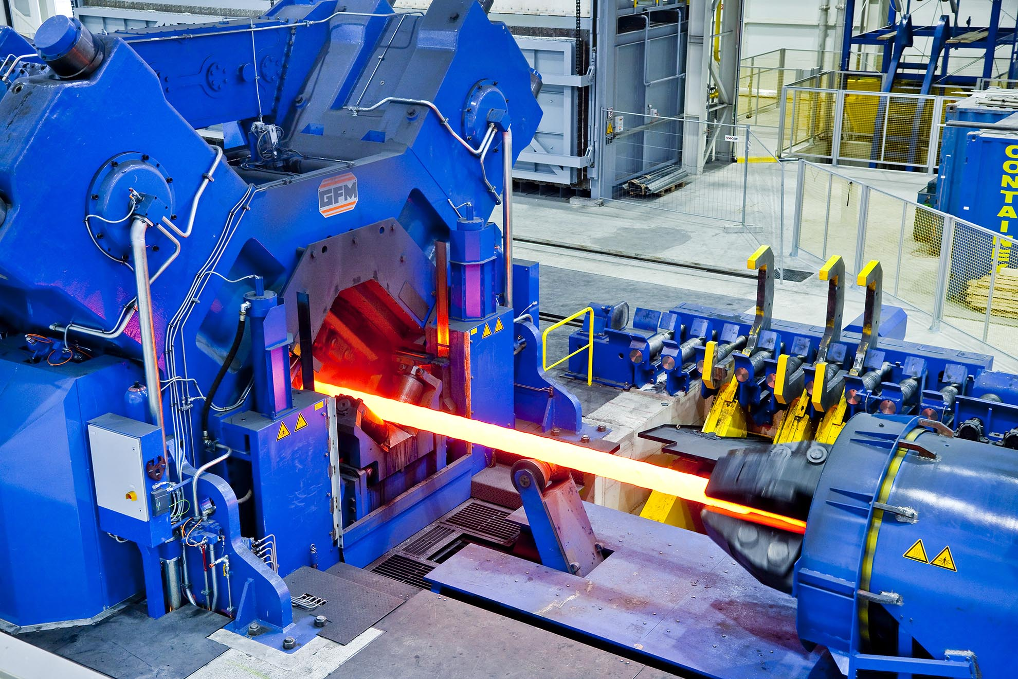 Factory fabrication equipment and devices for heating