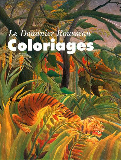 Green-monsters-douanier-rousseau-coloriage