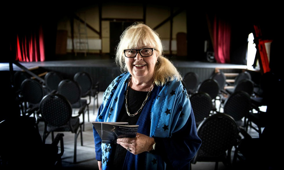Ulla O'Barius, ordförande Båstad Kammarmusikförening