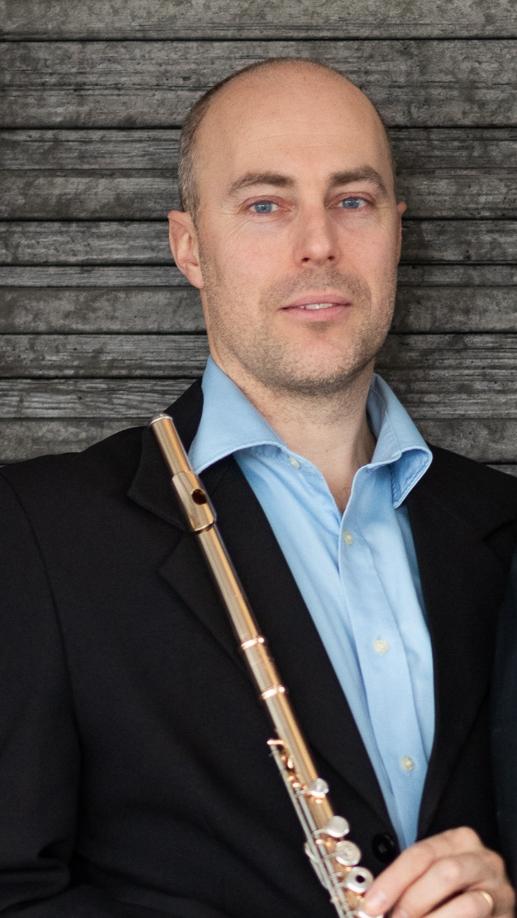 Johan Skeppstedt Andersson, flöjt