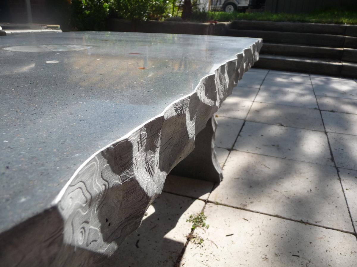 custom edging coffee table