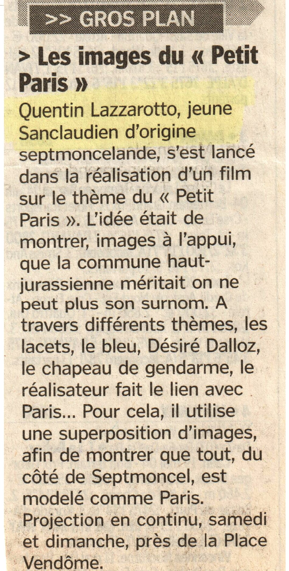 Les images du Petit Paris