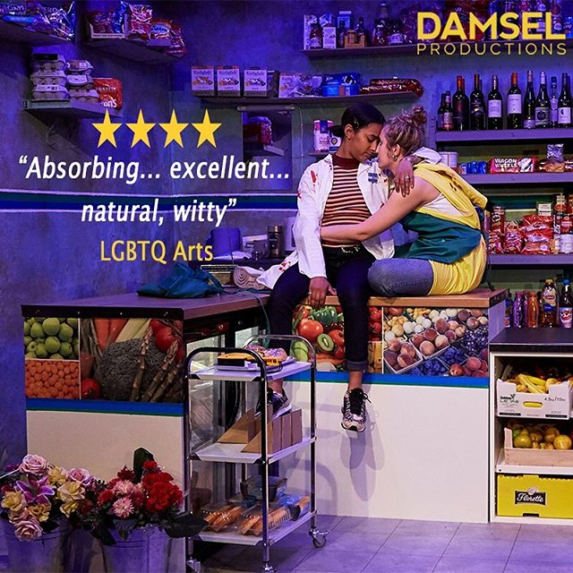 ⭐️⭐️⭐️⭐️ #503ambertrap runs @theatre503 until 18 May. Book now.  #theatre #lgbt #lesbianvisibility