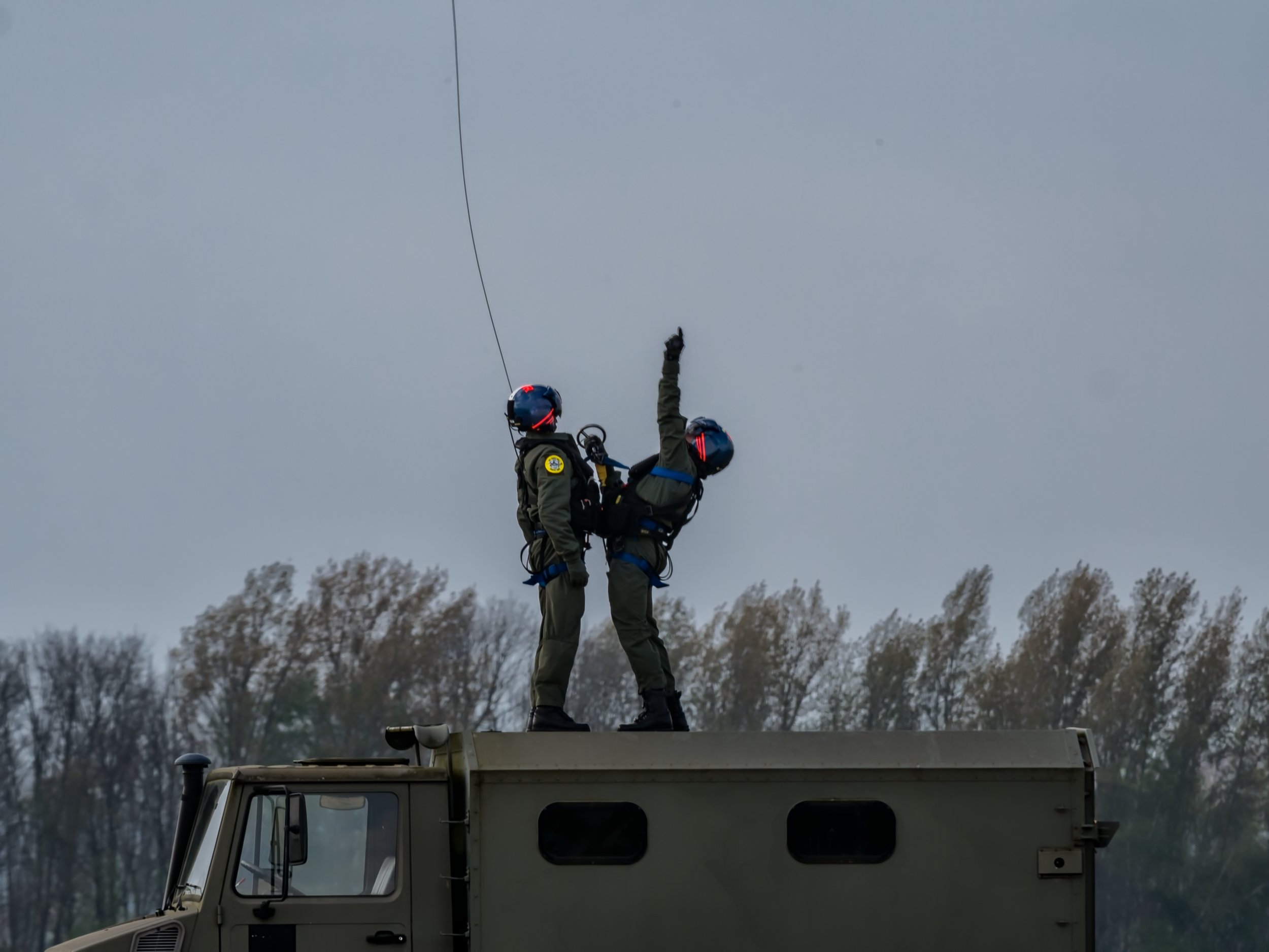 Seaking Rescue Crew