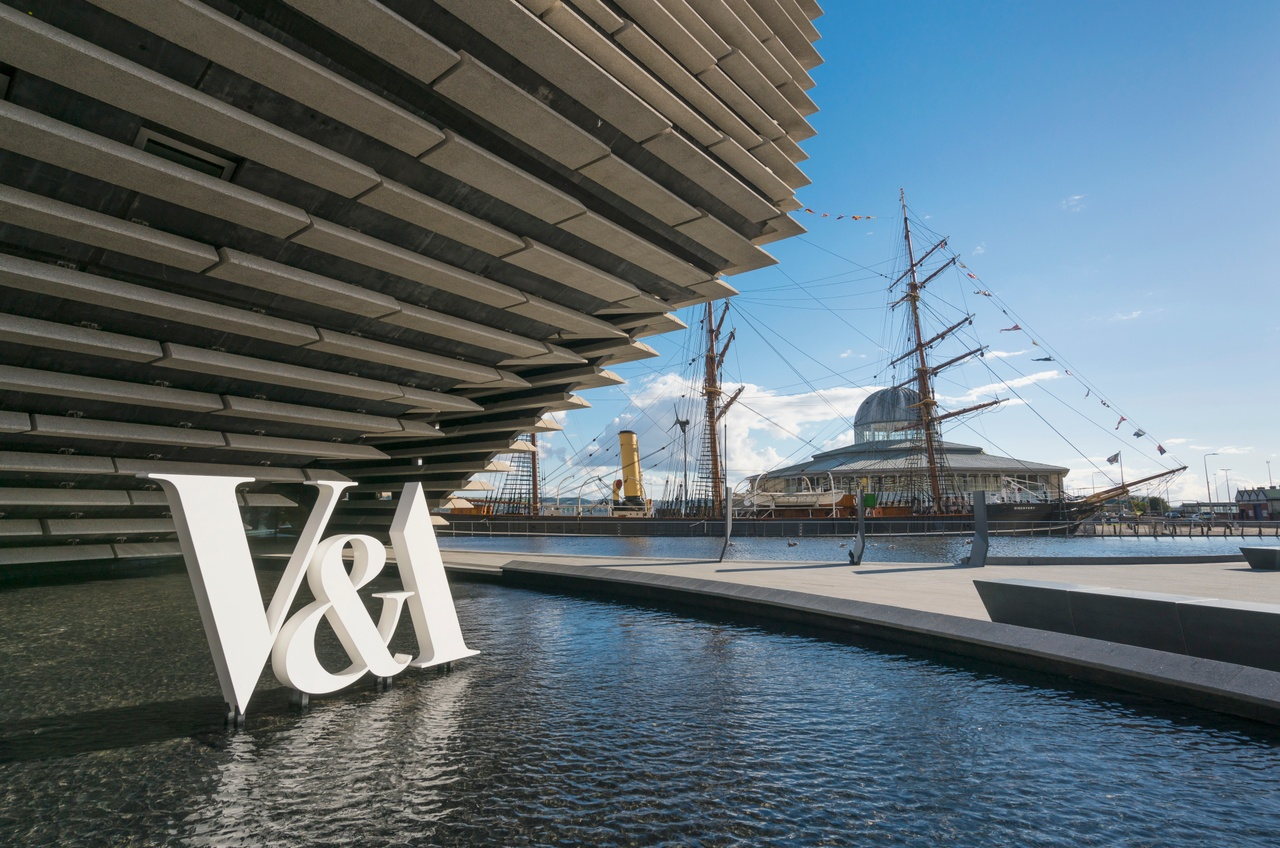 V&A Dundee. Credit: Visit Scotland / Kenny Lam