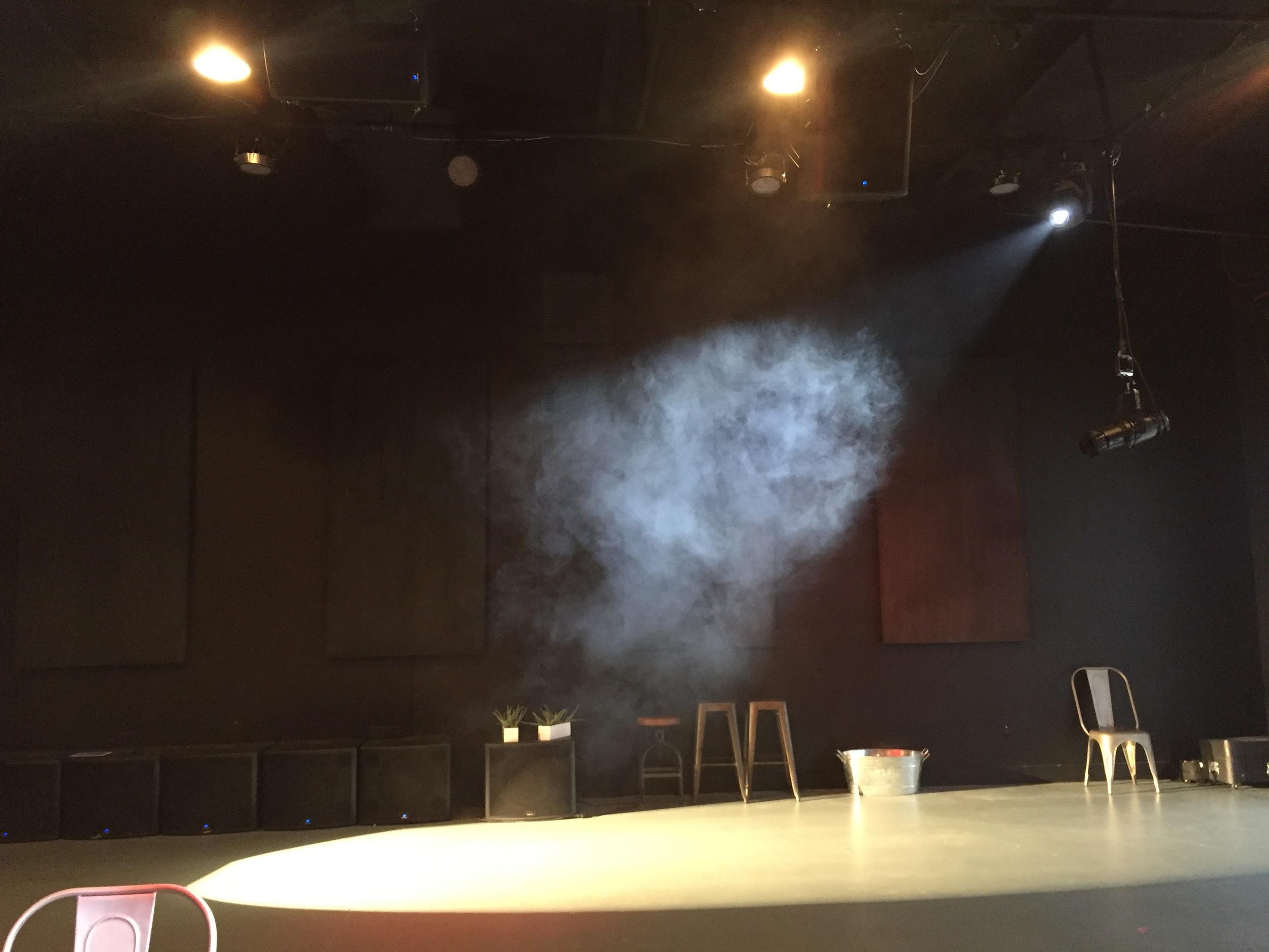 Haze and lighting tests
