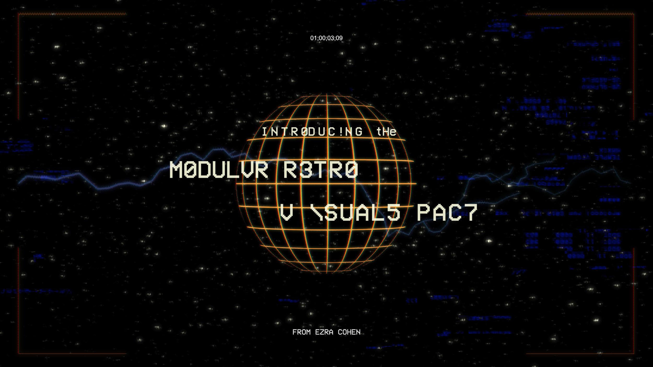 MODULAR RETRO ELEMENTS | $49+